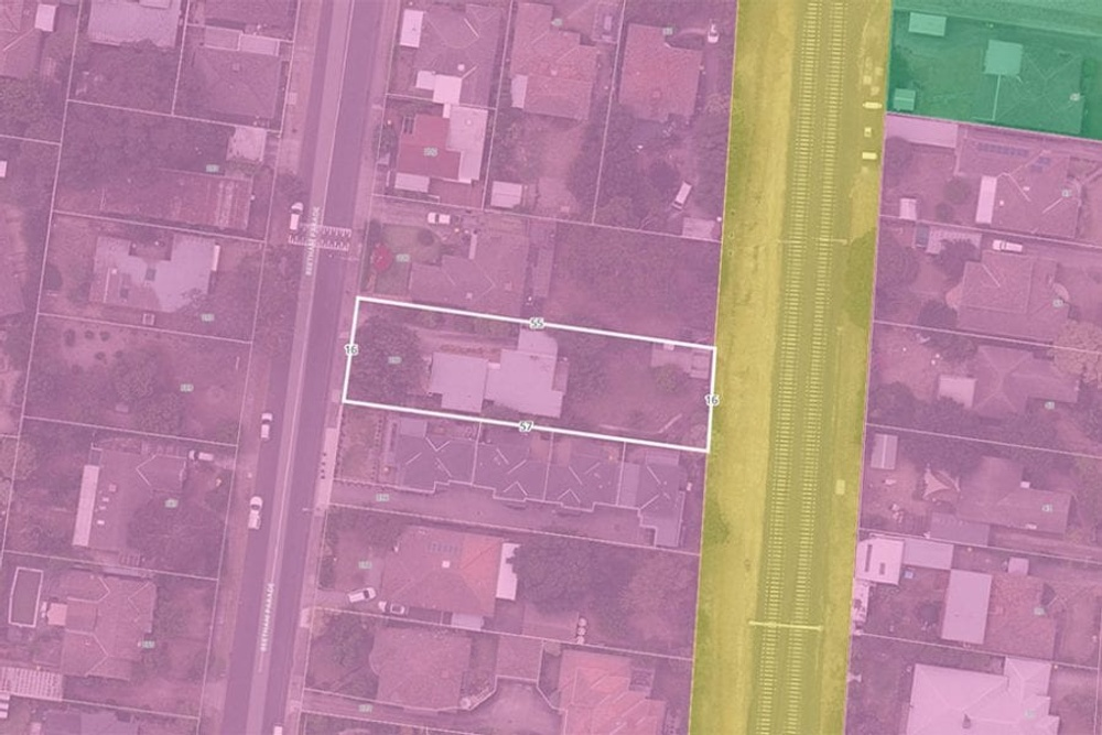 checking land size for developement