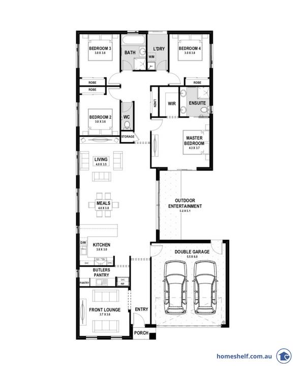 avant garde floor plan by true value homes