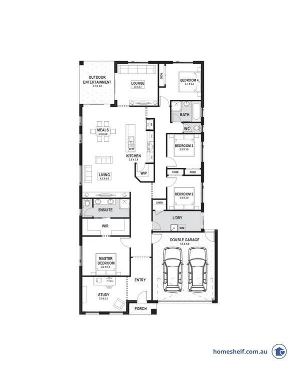 14m frontage Kimberley home design Melbourne builder