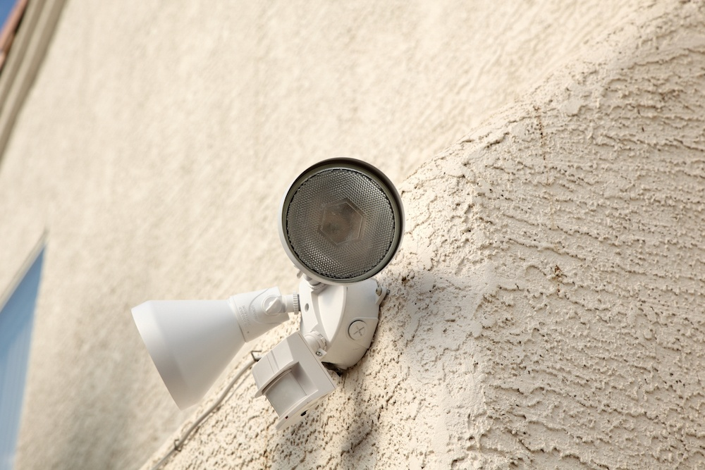 plan your electrical layout - sensor lights