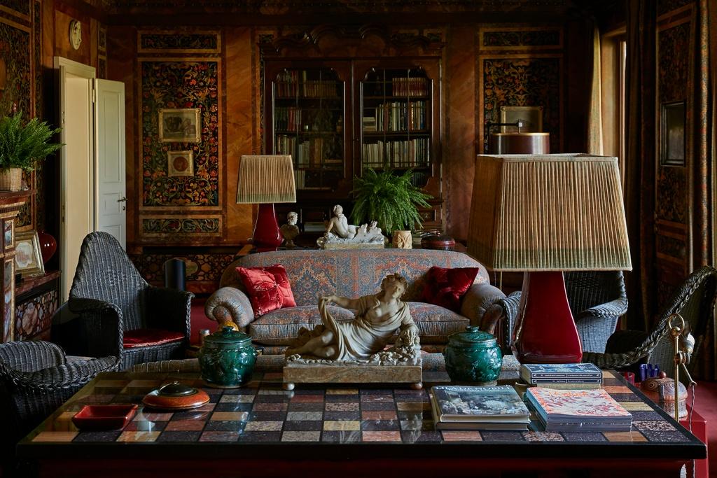 Martina Mondadori Living room Renzo Mongiardino