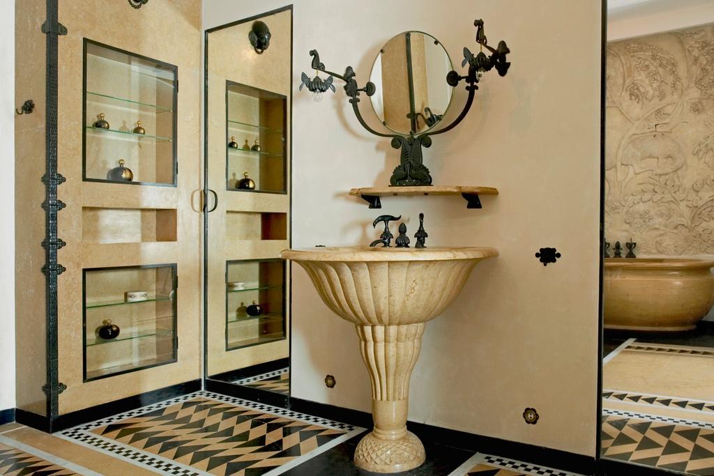 MAD Jeanne Lanvin Armand Albert Rateau Bathroom Philippe Chancel