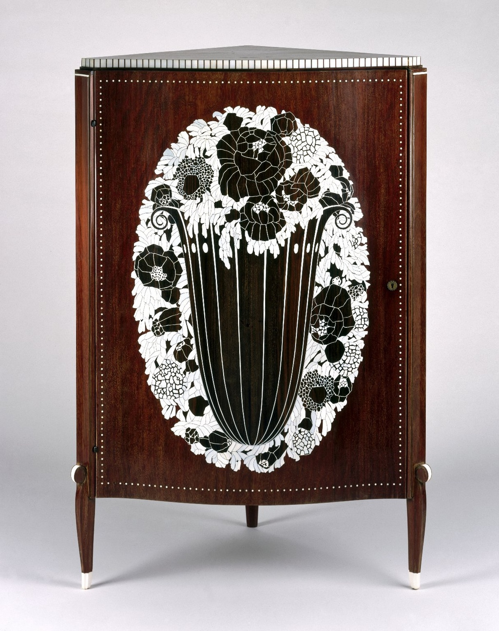 Jacques-Émile Ruhlmann Art Deco Corner Cabinet Brooklyn Museum