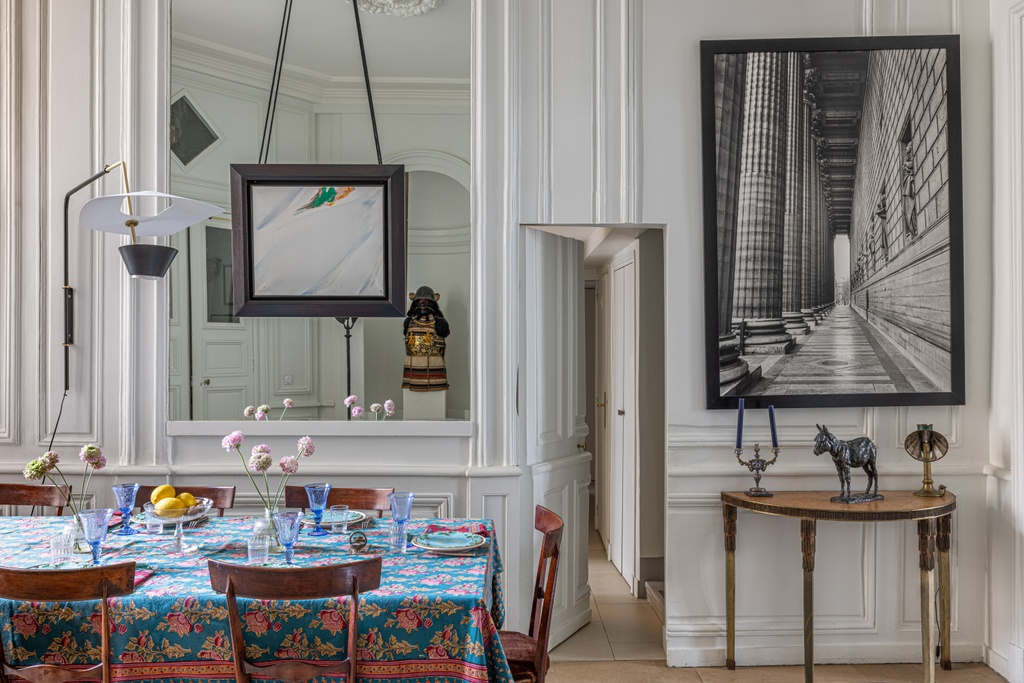 Xavier Eeckhout dining room Living with Art