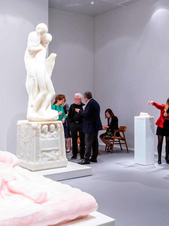 marble statue in art fair