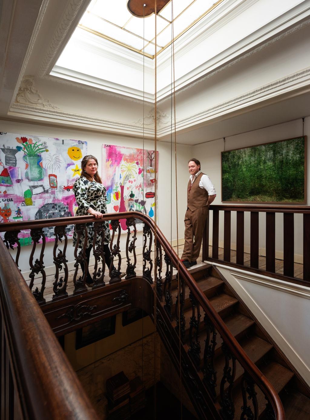 Niels de Boer Kunsthandel P. de Boer   TEFAF Living with Art   The European Fine Art Foundation
