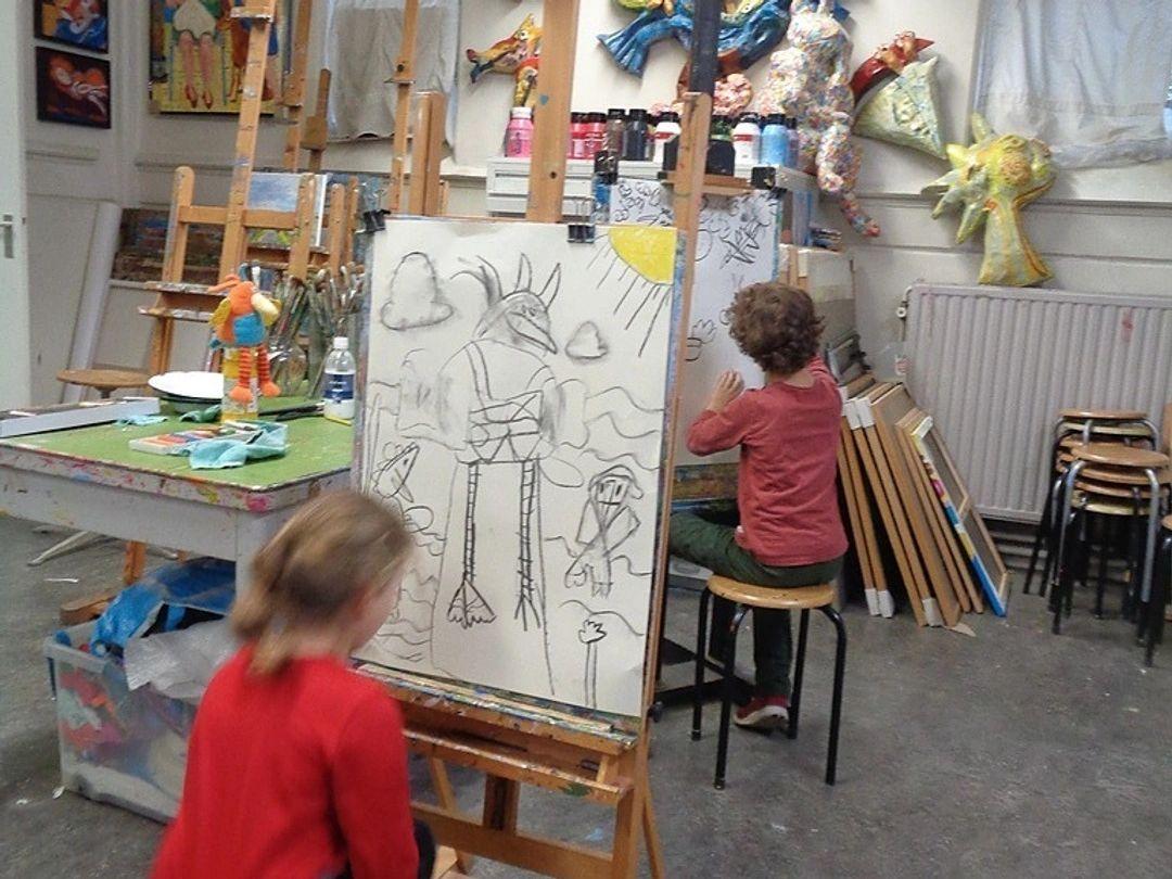 Het Kinderatteljee Workshops