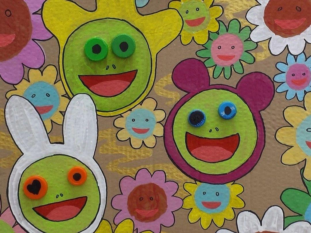 Murakami Superflat Painting