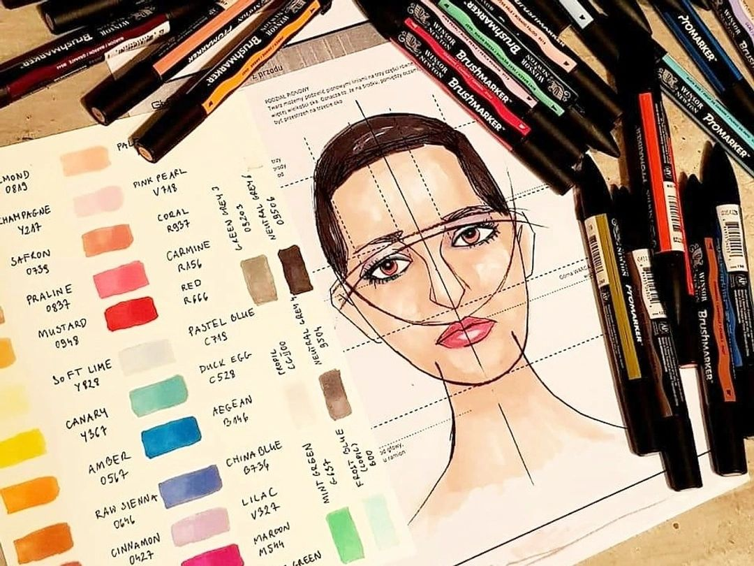 Promarkers Fashion Portret