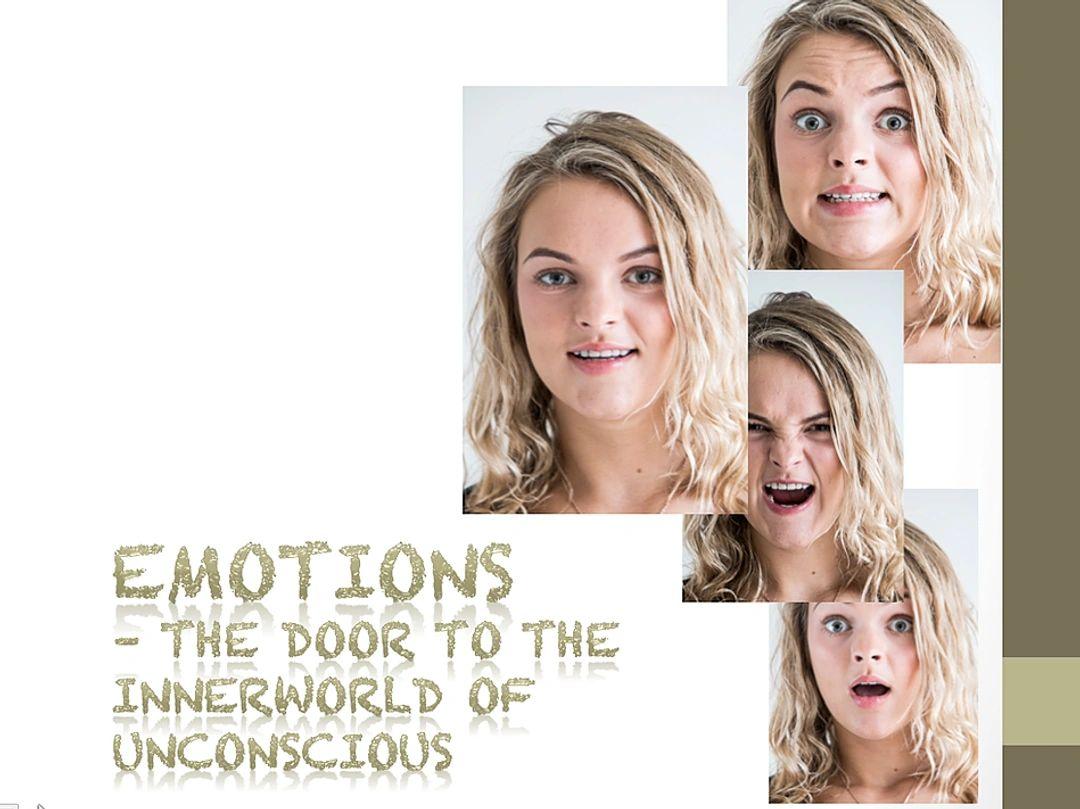 Emotions - the door to innerworld of unconscious