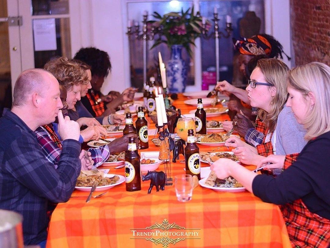 Kenyan Cooking Workshop at Kitchen Republic Amsterdam