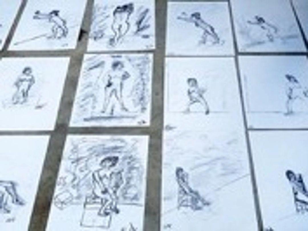14 april a.s,Een Naaktmodel Schilderen, Individuele Workshop