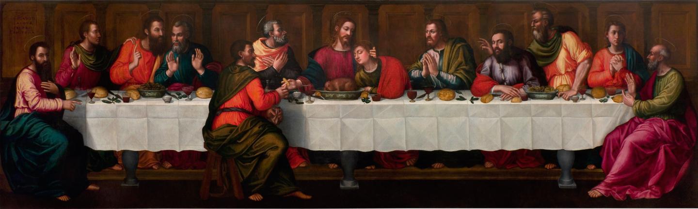 Plautilla Nelli, The Last Supper (restored), Museo di Santa Maria Novella, Florence