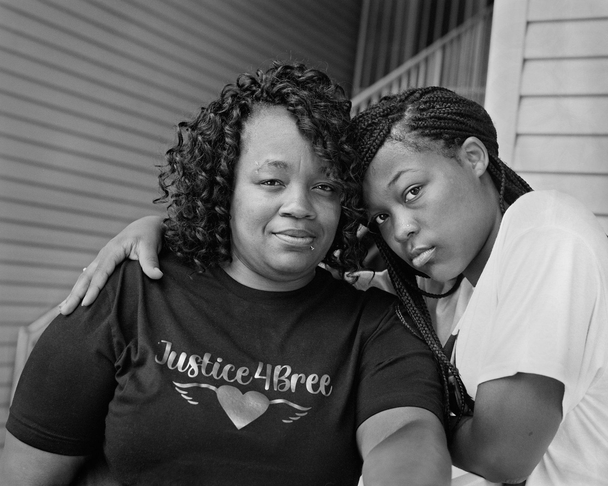 Breonna Taylor's Mother, Tamika Palmer, and Sister, Juniyah Palmer, 2020..jpeg