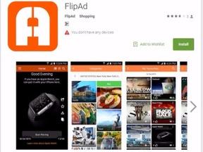 FlipAd Android App