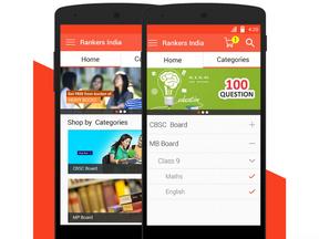 Rankers India App Design