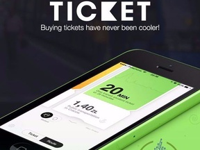 Ticket Booking App For IOS