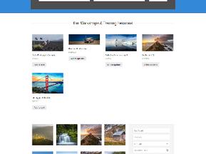 Website for a Photographer
