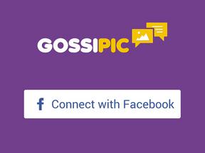 Gossipic App Design