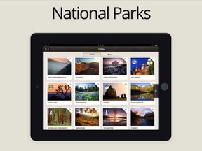 National Parks | iPhone | iPad