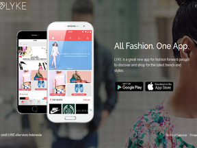 lyke - Online Fashion At One app