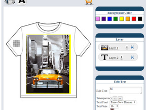 T-Shirt Product Customizer