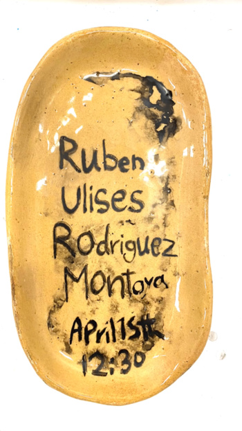 Poster for Ruben Rodriguez's VA lecture on April 15 at 12:30PM.