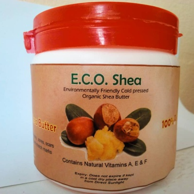 Raw Cold pressed Shea butter(Eco-shea) - 500grams