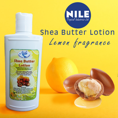 Nile sheabutter lotion –Lemon 200ml