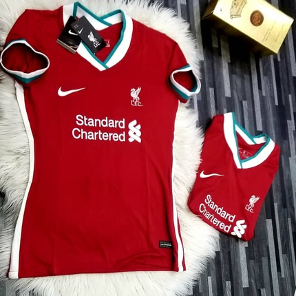 Liverpool New Season Home And Away Jerseys Momma Jay S Fashion World Flutterwave Store