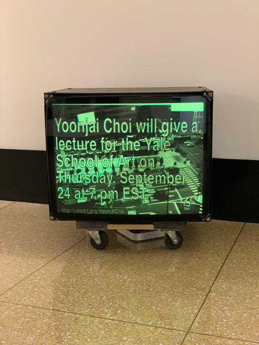 Poster for Yoonjai Choi's talk on Sept. 24 at 7pm