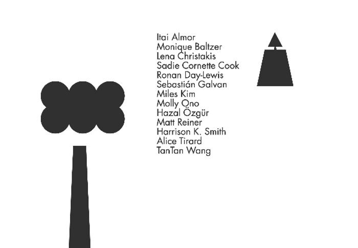 Screenshot of the undergraduate digital thesis archive, Yale BA Art 2020.