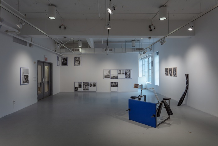 """Installation view of the 2021 Photography thesis show """"SORRY WE MISSED YOU"""" in Green Hall Gallery"""
