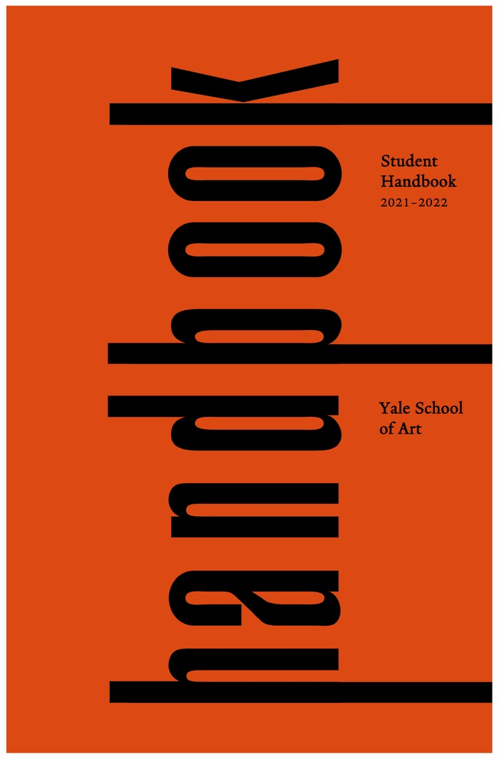 Click to access the School of Art 2021-22 Handbook via Box.