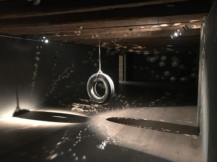 John Isaacs, Installation view at Artvera's, 2019 -A world without men, 2003.jpg