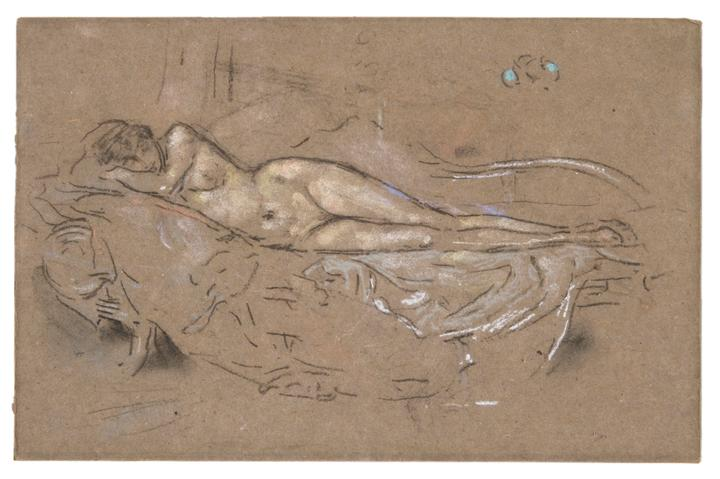 Whistler, Nude Reclining, Unframed, High Res.jpg