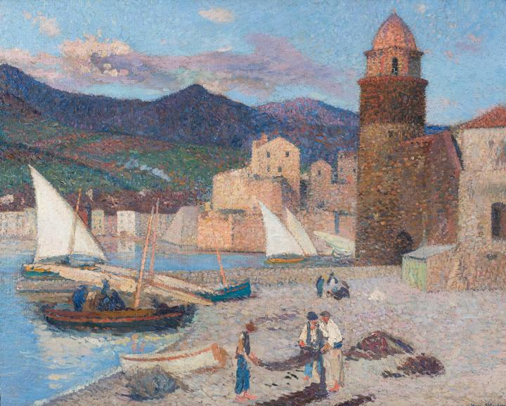 Martin_Collioure, le port de séchage_L.jpg