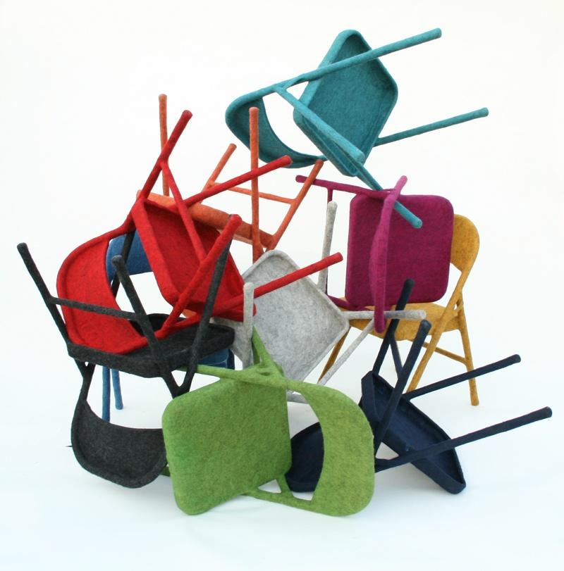 2006-present Aguiniga Felt Folding Chairs.jpg
