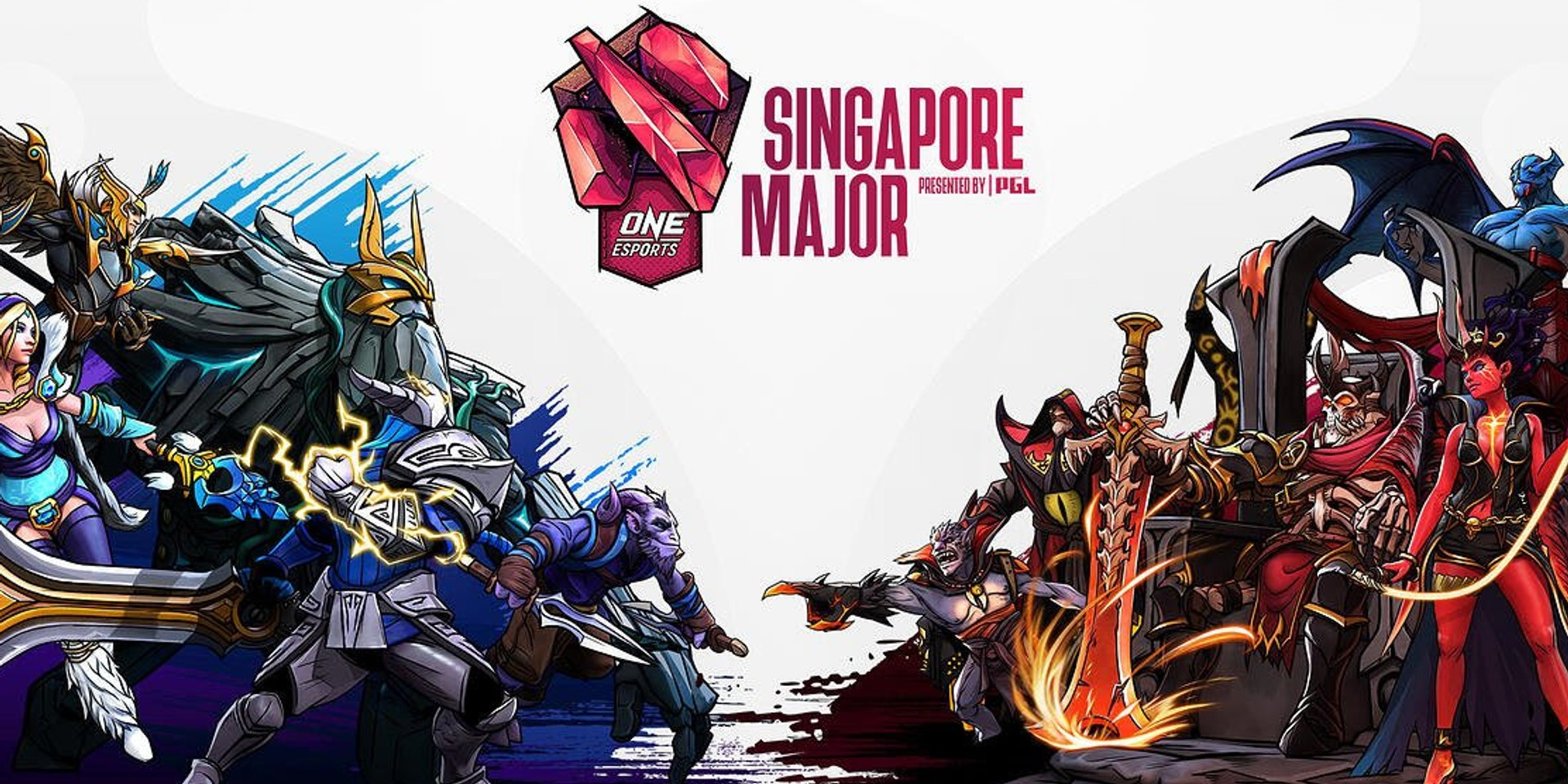 ONE Esports Dota 2 Singapore Major to be held in March, participating teams announced