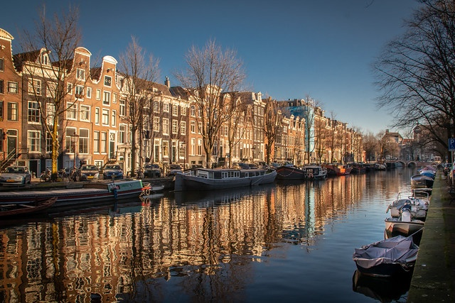 London - Paris - Amsterdam