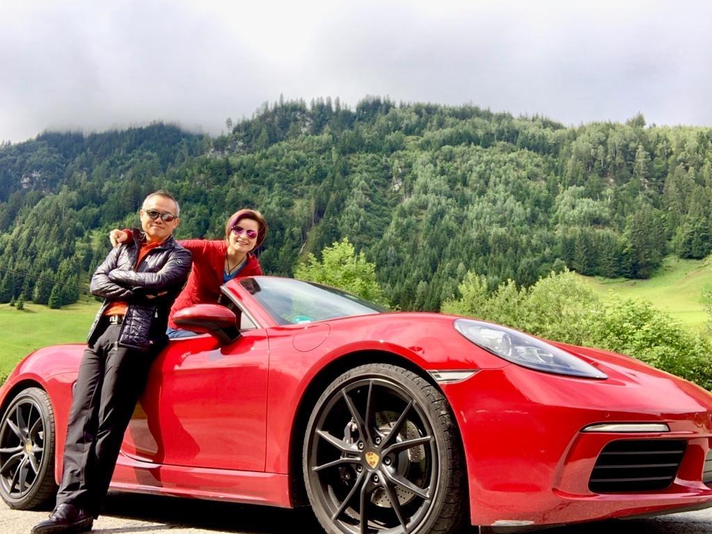 Best of Bavaria & Austrian Alps Road Trip — driven in Porsche Boxster