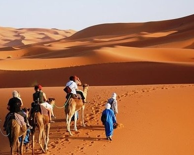 From Marrakech to Fes Sahara small group tour