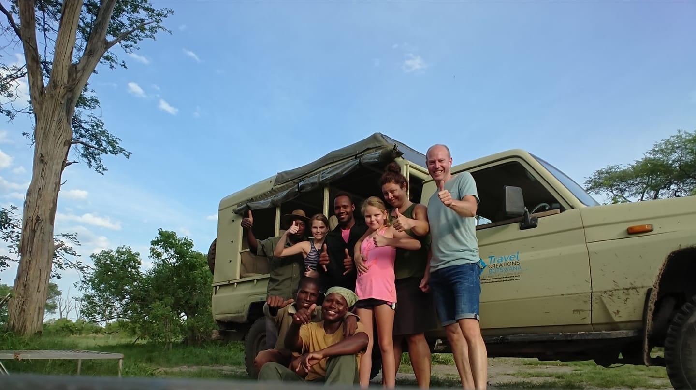 Maun to Chobe