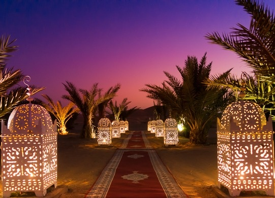 From Fes to Marrakech  Luxurious desert camping experience