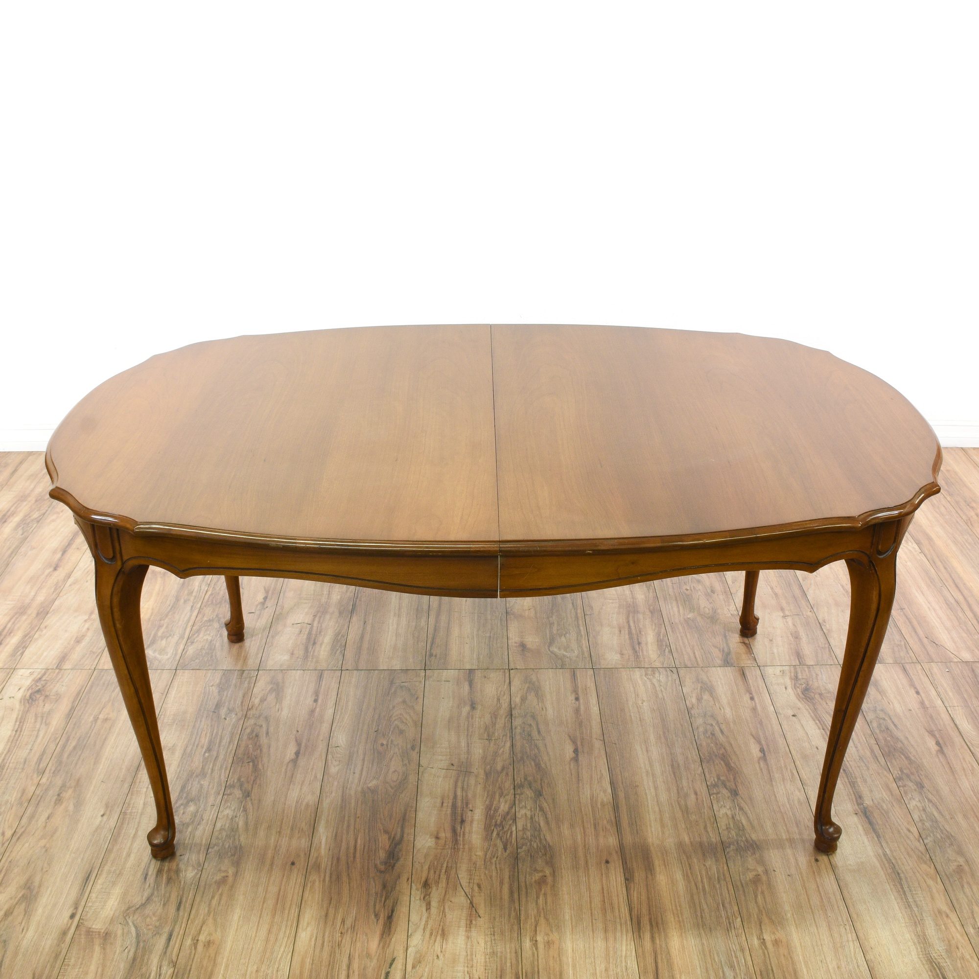 R way french provincial dining table loveseat vintage for R way dining room furniture