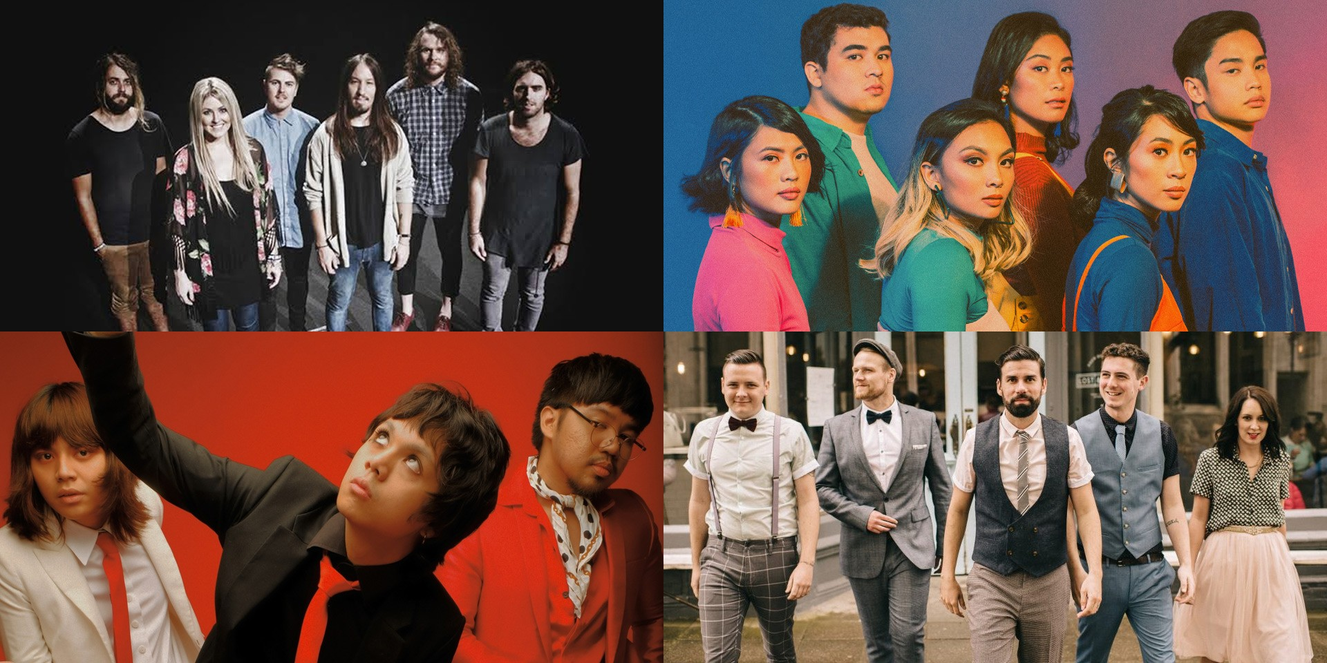 IV Of Spades, The Ransom Collective, Citipointe Worship, Rend Collective, and more to perform at FOUND Music Festival