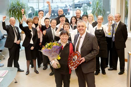 CH&Co employee of the year 2010