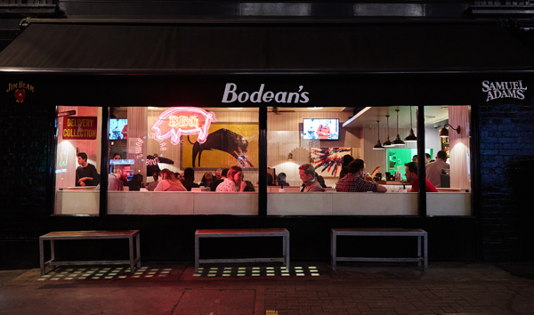 Bodean's BBQ in Soho, London, are already putting their best foot forward on TripAdvisor