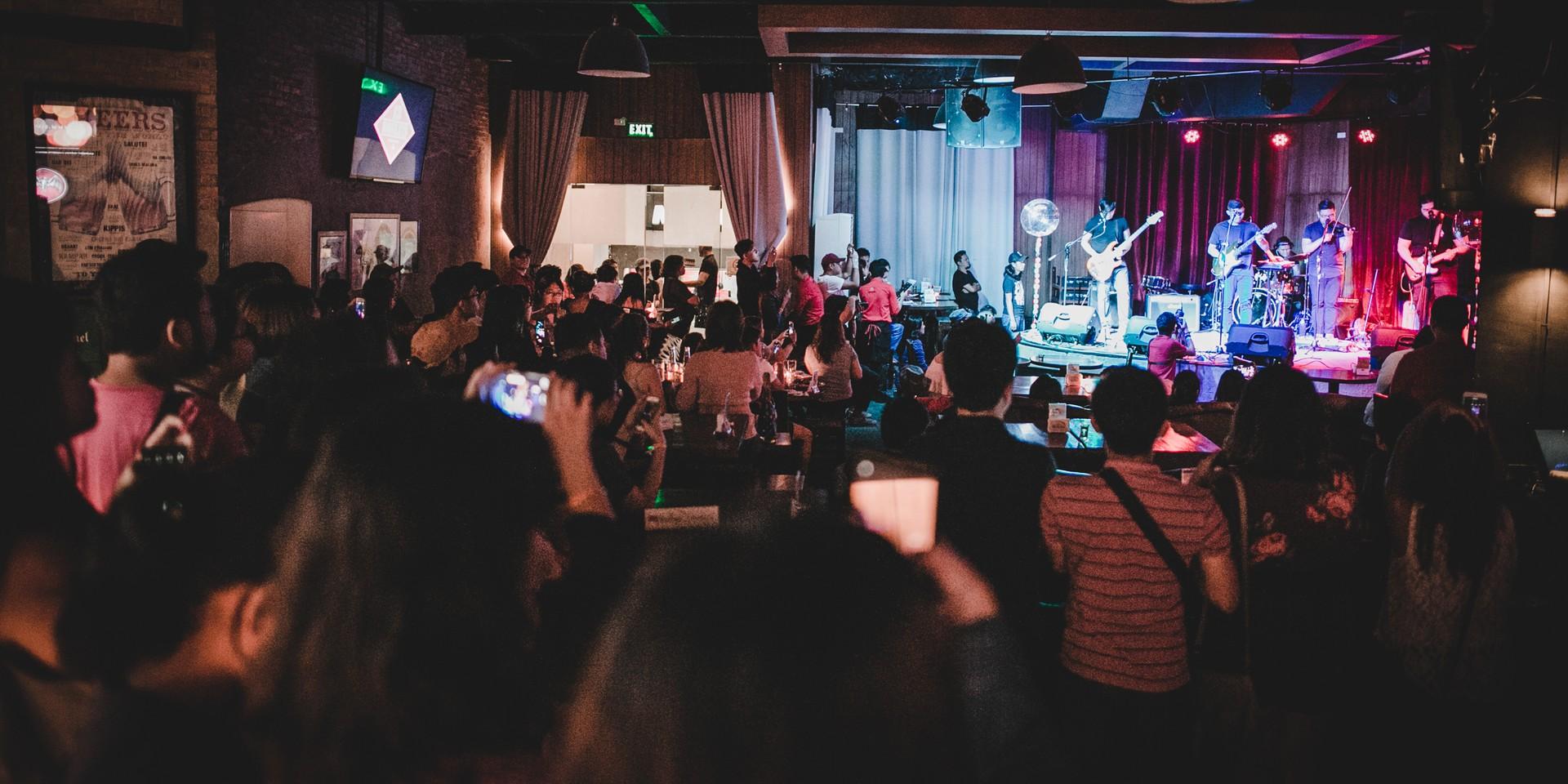 "Live music venues in Manila shut their doors in Luzon ""lockdown"""