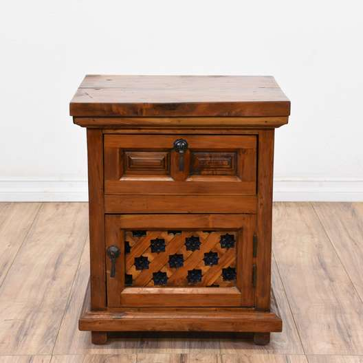 Solid Wood Moroccan-style Cabinet
